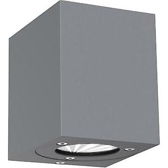 LED outdoor wall light 10 W Warm white Nordlux Canto Kubi 77521010 Grey