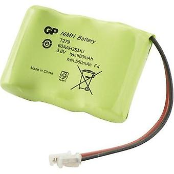 Cordless phone batteries GP Batteries Suitable for brands: Alcatel, Panasonic, Philips, Sony, Sanyo NiMH 3.6 V 600 mAh