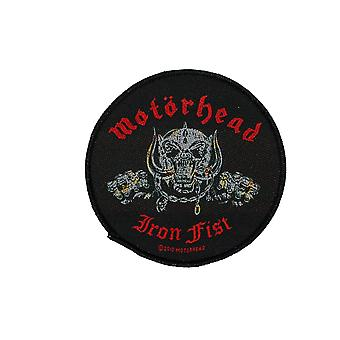 Motorhead Iron Fist Skull Woven Patch