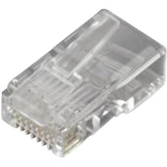 N/A Plug, straight MHRJ458P8CR Transparent MH