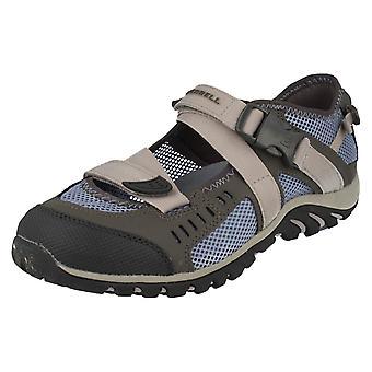Dames Merrell gesp vastgemaakt gesloten teen Casual schoenen Waterpro Crystal