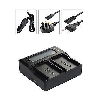 Dot.Foto Canon NB-2L, NB-2LH, BP-2L5, BP-2L12, BP-2L13, BP-2L14, BP-2L18, BP-2L21, BP-2L24H Dual Battery Charger