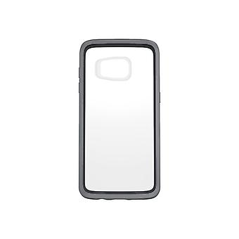 OtterBox Symmetry Series-mobile phone Cover-polycarbonate, synthetic rubber-grey Crystal for Samsung Galaxy