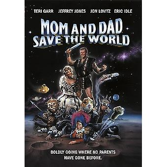 Mom & Dad Save the World [DVD] USA import