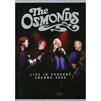 Osmonds - The Osmonds: Live in Concert, London 2006 [DVD] USA import