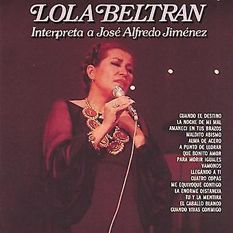 Lola Beltran - Interpreta a Jose Alfredo Jimenez [CD] USA import