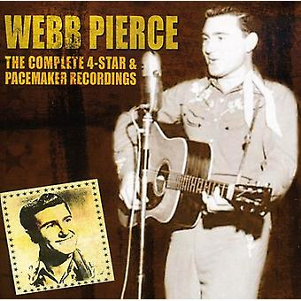 Webb Pierce - Captain 4 Star & Pacemaker [CD] USA import