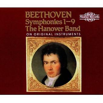 L.V. Beethoven - Beethoven: Symphonies Nos. 1-9 [CD] USA import