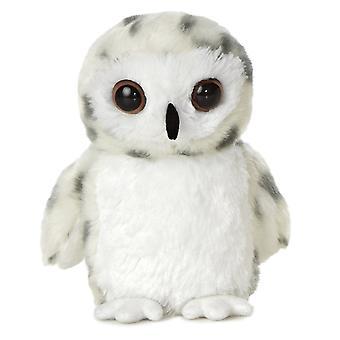 Aurora World Mini Flopsie Snowy Owl Plush Toy