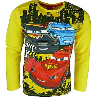 Boys Disney Cars Lightning McQueen | Long Sleeve Top