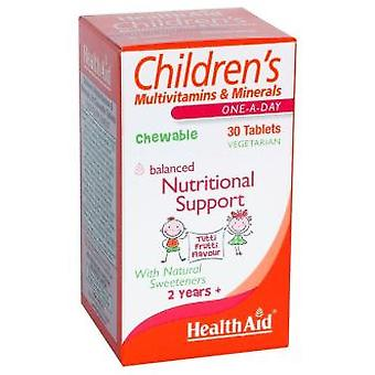 Health Aid Children Multinutrient 30comp. Health Aid