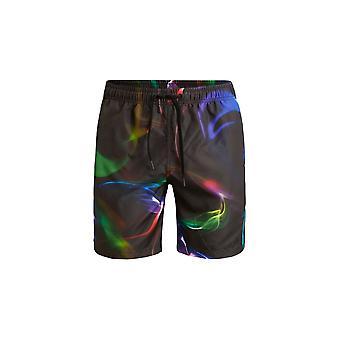 Bjorn Borg Northern Lights Smokin ' Swim Shorts, negro