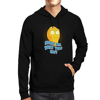Rick And Morty Cromulons Show Me What You Got Men's Hooded Sweatshirt