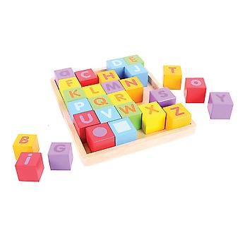 Bigjigs Toys ABC Blocks