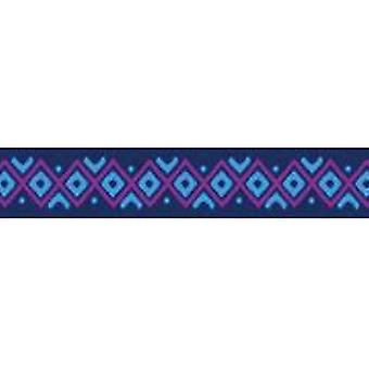 Tuff Lock Collars Large Inca Blue