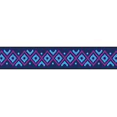 Tuff cerradura collares grandes Inca azul