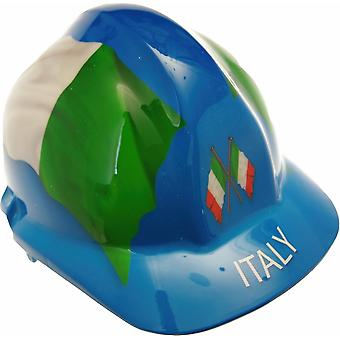 Italy Themed Hard Hat