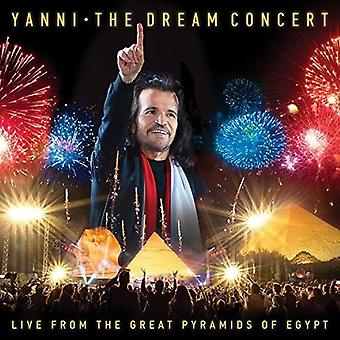 Yanni - concierto Dream: Importación de Estados Unidos en vivo de grandes pirámides de Egipto [CD]