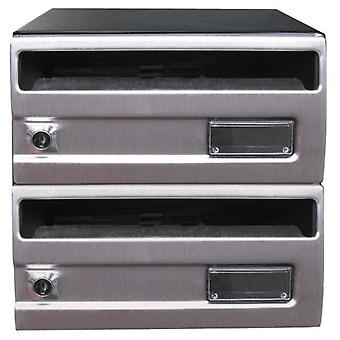 BTV Buzon G2 Silver Stainless Steel 245X250 (DIY , Hardware , Home hardware , Mailboxes)