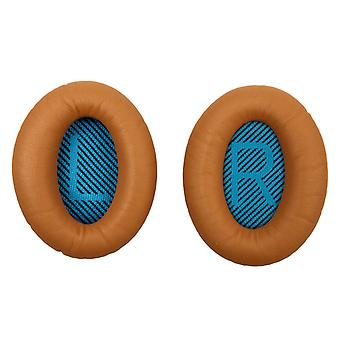 REYTID Replacement Brown Ear Pads Kit for Bose Around Ear SoundTrue & AE2 Headphones Cushions - 1 Pair Earpads