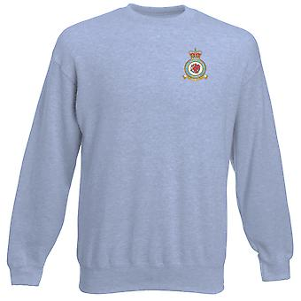 St Athan RAF Station Embroidered Logo - Official Royal Air Force Heavyweight Sweatshirt