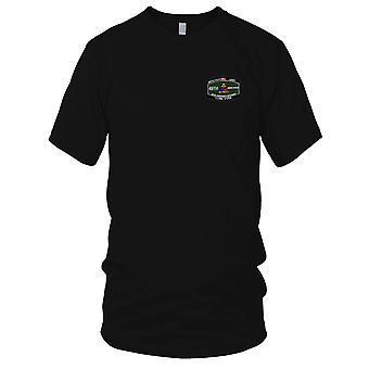 Los E.E.U.U. ejército división armada - 49 especialidad ocupacional militar MOS bordado parche - para hombre T Shirt