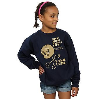 Looney Tunes Girls Tweety Pie Lash Curl Sweatshirt