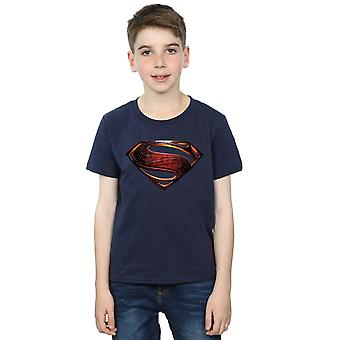 DC Comics Boys Justice League Movie Superman Emblem T-Shirt