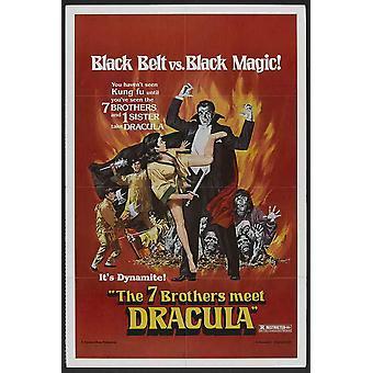 Legend of the 7 Golden Vampires Movie Poster (11 x 17)