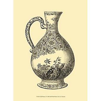 Delft Pottery I Poster Print (10 x 13)