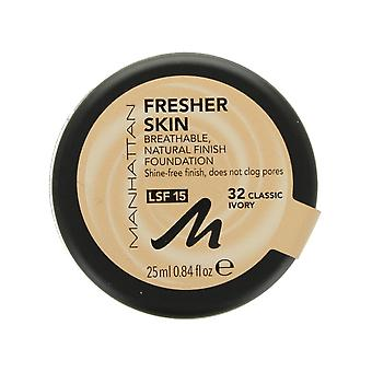 Manhattan más fresca piel Foundation SPF15 25ml