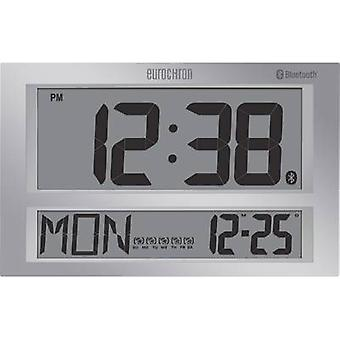 Eurochron Radio Wall clock 424 mm x 273 mm x 44 mm Grey