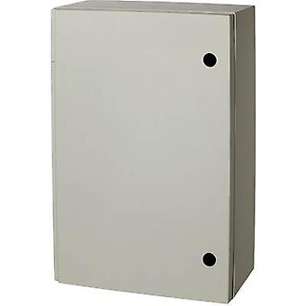 Wall-mount enclosure 615 x 415 x 230 Polyester Grey (RAL 7035)