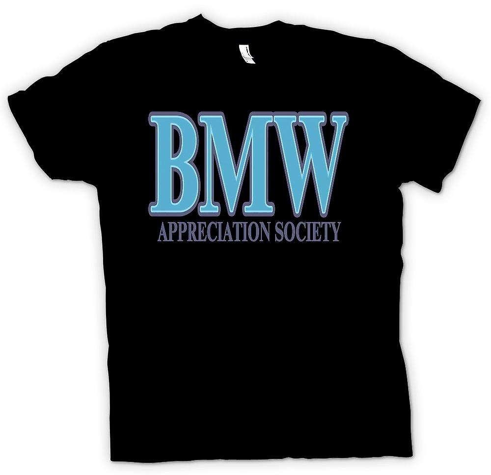Womens T-shirt - BMW Appreciation Society