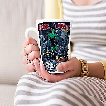 Magiczna Dziewczyna Czarownica Zombie nowe Biała herbata kawa Latte ceramiczny kubek 17 oz   Wellcoda