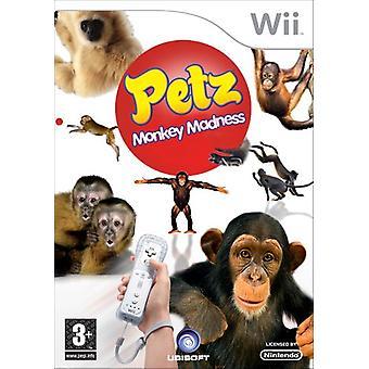 Petz Monkey Madness (Nintendo Wii)
