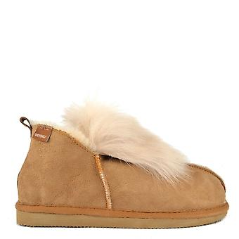 Shepherd of Sweden Jolina Chestnut Sheepskin Boot