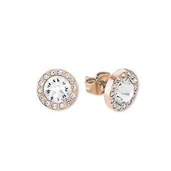 s.Oliver jewel ladies earrings stainless steel rose gold 2015046