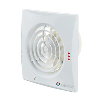Vents low energy extractor fan 100 Quiet range up to 97 m³/h IP45