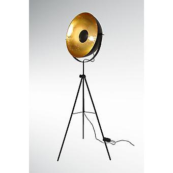 Retro gulvlampe, stativ Studio lampe af store Alona sort & guld 10593