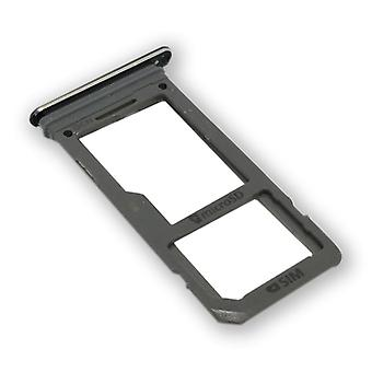 Samsung Galaxy S8 G950F GH98-41131C Simkartenhalter SIM tray SIM carriage silver