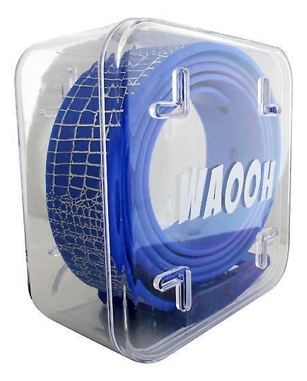 Waooh - cintura plastica Waooh blu/argento