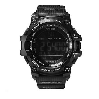 Ex16 sports Durable Smartwatch with long battery life-Black