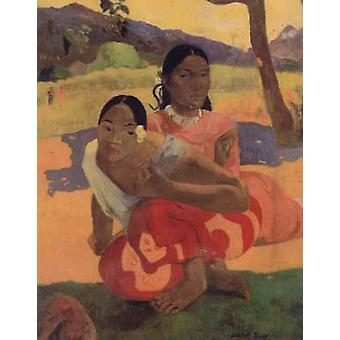 When will you Marry, Paul Gauguin, 50x40cm