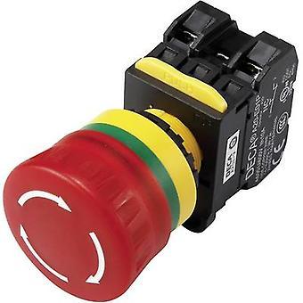 DECA A20L-V4E10Q6R EPO switch + contact 240 V AC 6 A 1 maker IP65 1 pc(s)