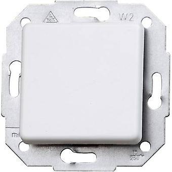 Kopp Insert Cross-switch Europa Arctic white, Matt 613713085