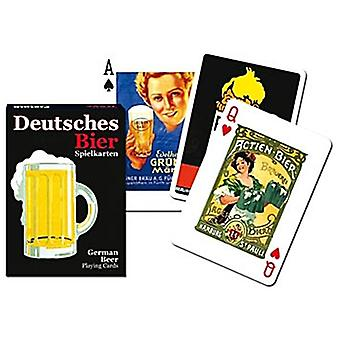 Deutsche Bier Satz Spielkarten + Joker