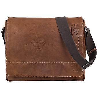 Strellson Upminster cuero de mensajero bolsa de hombro 4010001924