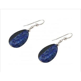 Lapis Lazuliohrringe 925 Silver lapis lazuli earrings DOROTHEA