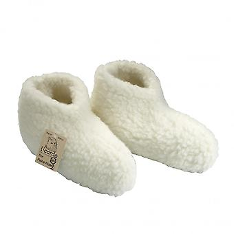 Bed shoes wool ecru 44/45